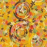 Безшовная картина предпосылки flowe, бесплатная иллюстрация