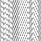 Безшовная картина прокладок линий зигзага бесплатная иллюстрация