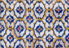 Безшовная картина плитки античных плиток Стоковое Изображение