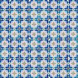 Безшовная картина плитки Стоковое Изображение RF