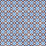 Безшовная картина плитки Стоковое фото RF