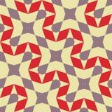 Безшовная картина - ретро геометрическая предпосылка бесплатная иллюстрация