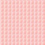 Безшовная картина розовых кругов Стоковая Фотография RF