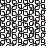 Безшовная картина связей в форме rhombs Стоковые Фотографии RF