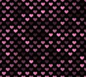 Безшовная картина сердца Стоковая Фотография