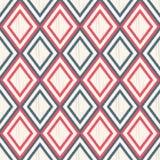 Безшовная картина сетки косоугольника иллюстрация штока