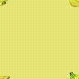 Безшовная картина с бананами Стоковые Изображения RF