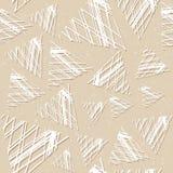 Безшовная картина с большими треугольниками Решетка линий Стоковые Фото