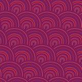 Безшовная картина с волнами. бесплатная иллюстрация