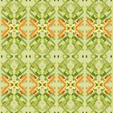 Безшовная картина с геометрической вышивкой Стоковые Фото