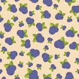 Безшовная картина с голубикой Яркие цвета, стиль для печатей, батик моды, silk ткань, подушка валика, бандана пестрого платка Стоковое Фото