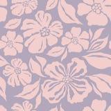 Безшовная картина с декоративным орнаментальным цветком Стоковое Изображение