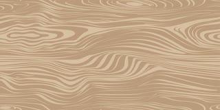 Безшовная картина с деревянной текстурой Стоковая Фотография RF