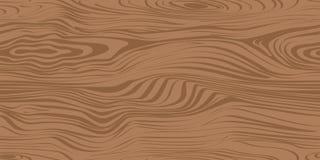 Безшовная картина с деревянной текстурой Стоковое Изображение RF