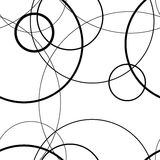 Безшовная картина сделанная круга, предпосылки вектора Стоковые Изображения RF
