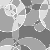Безшовная картина сделанная круга, предпосылки вектора Стоковое Фото
