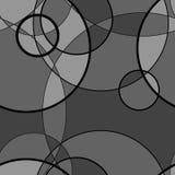 Безшовная картина сделанная круга, предпосылки вектора Стоковое фото RF