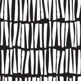 Безшовная картина с линиями нарисованными рукой вертикальными вектор Стоковое Фото