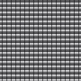 Безшовная картина с кнопками хрома Стоковое фото RF
