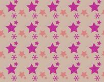 Безшовная картина с красочной звездой иллюстрация штока