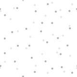Безшовная картина с круглым confetti Стоковое Изображение