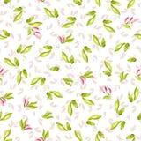 Безшовная картина с маленькими розовыми цветками Стоковое Фото