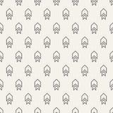 Безшовная картина с мотивом стрелок абстрактный minimalist предпосылки иллюстрация вектора
