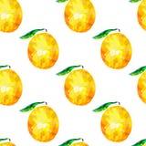 Безшовная картина с оранжевыми треугольниками, оранжевыми треугольниками Стоковое фото RF