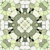 Безшовная картина с орнаментом круга этническим абстрактная предпосылка иллюстрация вектора