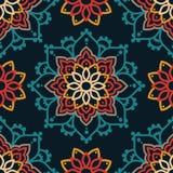 Безшовная картина с орнаментом madala Стоковые Изображения