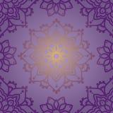 Безшовная картина с орнаментом madala Стоковое Изображение