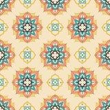 Безшовная картина с орнаментом madala Стоковое Фото