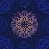 Безшовная картина с орнаментом madala Стоковое фото RF