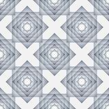 Безшовная картина с перекрывая прямоугольниками бесплатная иллюстрация