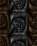 Безшовная картина с пер павлина Стоковое фото RF