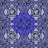 Безшовная картина с повторять геометрические плитки иллюстрация вектора