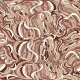 Безшовная картина с покрашенными лентами Стоковое Изображение