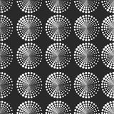 Безшовная картина с поставленными точки элементами Вектор повторяя текстуру Стоковая Фотография RF