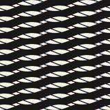 Безшовная картина с раскосными веревочками, нашивками, наклонила линии Предпосылка вектора бесплатная иллюстрация