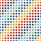 Безшовная картина с симметричным геометрическим орнаментом Предпосылка повторенная конспектом яркая Обои мозаики Стоковое Изображение