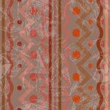 Безшовная картина с текстурированными помарками иллюстрация вектора