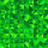 Безшовная картина с формами треугольника других цветов Бесплатная Иллюстрация