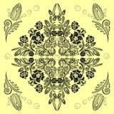 Безшовная картина с флористическим Стоковое Фото