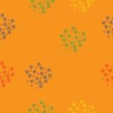 Безшовная картина с цветками бесплатная иллюстрация