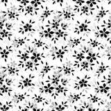 Безшовная картина с цветками. Стоковые Изображения RF