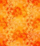 Безшовная картина с цикорием Круглый калейдоскоп цветков и флористических элементов Стоковые Фото