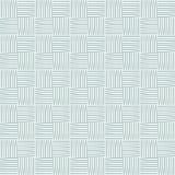 Безшовная картина с шариками пряжи Предпосылка в стиле шаржа Простые графики вектор Стоковые Изображения RF