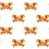 Безшовная картина с bonbons стоковые изображения rf