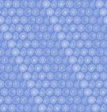 Безшовная картина с seashells Стоковая Фотография