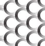 Безшовная картина точек EPS 10 также вектор иллюстрации притяжки corel Точки конспекта безшовные иллюстрация штока